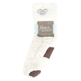 Pavilion Gift, Someone Special Slipper Socks, Sherpa, Cream, One Size Fits Most