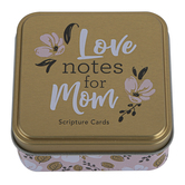 Christian Art Gifts, Love Notes for Mom Scripture Cards, 50 Double-Sided Cards