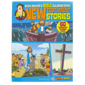 Buck Denver's Bible Coloring Book: New Testament Stories, by Phil Vischer, Paperback, 64 Pages, Ages 4-6