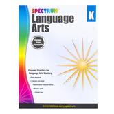Carson-Dellosa, Spectrum Language Arts Workbook, Paperback, 128 Pages, Grade K