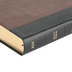 KJV Large Print Personal Size Reference Bible, Imitation Leather, Black & Brown
