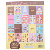 Melissa & Doug, Sweets & Treats Sticker Pad, 11 x 17 Inches, Ages 4 and up