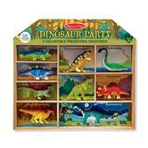 Melissa & Doug, Dinosaur Party Play Set, Ages 3 to 7 Years Old, 9 Figures