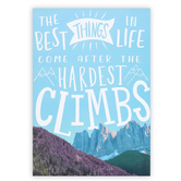 Renewing Minds, The Best Things In Life Motivational Poster, 13 x 19 Inches