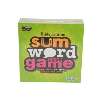 Talicor, Sum Word Game, Ages 13 and Up, 2 to 6 Players