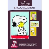 DaySpring, Peanuts Encouragement Cards, 12 count