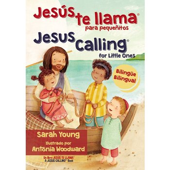 Jesús te llama para pequeñitos (Jesus Calling for Little Ones), by Sarah Young, Bilingual, Board Book