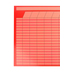 Renewing Minds, Customizable Jumbo Incentive Chart, 28 x 22 Inches, Red, 1 Piece