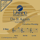 Do It Again, Accompaniment Track, As Made Popular by Elevation Worship, CD
