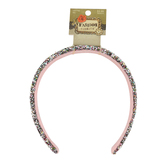 Fashion Tidbits, Multicolored Glitter Headband, Wide Width