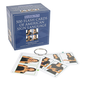 Barron's, 500 Flash Cards of American Sign Language, 4 x 5 inches, 500 Cards