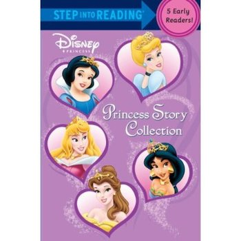 Disney Princess Story Collection 5-in-1, Step Into Reading, Paperback