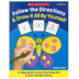 Scholastic, Follow the Directions and Draw It All by Yourself, Reproducible, 64 Pages, Grades K-2