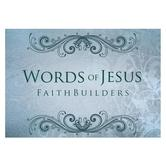 Christian Art Gifts, Words of Jesus Faithbuilders Pocket Cards, 3 1/8 x 2 inches, 20 cards