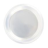 Brother Sister Design Studio, Clear Plastic Plates, Small, 7-inch Diameter, 50 Count