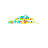 Renewing Minds, Happy Birthday Crowns, Multi-Colored, 23.5 x 4 Inches, 30 Count