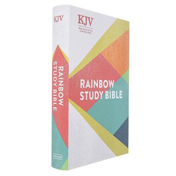 KJV Rainbow Study Bible, Hardcover