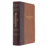NASB 95, MacArthur Study Bible: Second Edition, Imitation Leather, Brown