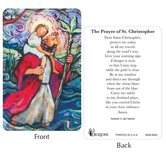 Dicksons, St. Christopher Pocket Card, 2 1/2 x 3 7/8 inches
