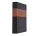 NLT Holy Bible, Giant Print, Duo-Tone, Brown and Tan