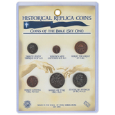 Channel Craft, Coins of the Bible Set One, Old Testament, 4 to 6 Pieces