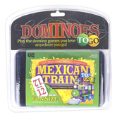 University Games, Mexican Train To Go Dominoes Game, Supports 1 to 8 Players, Ages 6 & Older