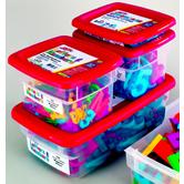 Jumbo Lowercase AlphaMagnets - Multicolored