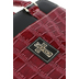 Christian Art, Croc Embossed Purse-Style Bible Cover, Burgundy, Large