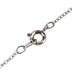 H.J. Sherman, Mustard Seed Cross, Women's Necklace, Rhodium Plated and Epoxy, 18 inches
