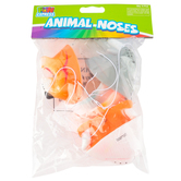 Fun Express, Vinyl Animal Nose Assortment, 2.75 x 3.50 Inches, 6 Pack, Ages 3 and up