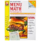 Remedia Publications, Menu Math The Hamburger Hut, Paperback, 94-Pages, Grades 3-6