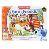 The Learning Journey, My First Big Floor Puzzle Farm Friends, 12 Pieces, 24 x 18 inches