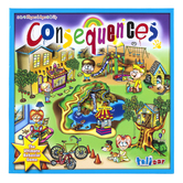 Talicor, Consequences Board Game, Ages 3 and Older, 2 to 4 Players