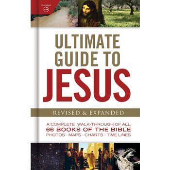 Ultimate Guide to Jesus, Revised and Expanded, by Holman Bible Publishers, Hardcover