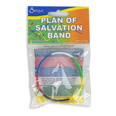 Swanson, Plan of Salvation Band Bracelet, Silicone, One Size Fits Most