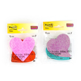 3M, Super Sticky Heart-Shaped Post-it Notes, 3 x 3 Inches, Assorted Colors, 2 Pads, 75 Sheets Each