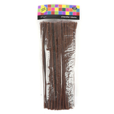 Tree House Studio, Chenille Stems, 12 x 1/4 Inches, Brown, 140 Count
