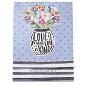 ThreeRoses, 1 Corinthians 13:4 Love Is Patient Love Is Kind Memo Pad, 3 x 4 inches