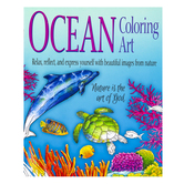 Product Concept Manufacturing, Ocean Coloring Art Book, 8 1/2 x 11 Inches
