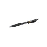 Pilot, Retractable Gel Roller Pen with Rubber Grip, Fine Point, Black, 1 Piece