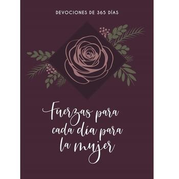 Pre-buy, Fuerzas Para Cada Dia Para La Mujer: Devociones De 365 Dias, by Broadstreet, Paperback