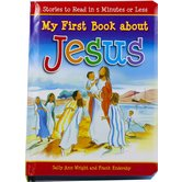 My First Book About Jesus, by Sally Ann Wright and Frank Endersby, Board Book
