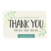 You Are Appreciated, Thank You For All That You Do Gift Card