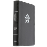 CSB Law Enforcement Officer's Bible, Imitation Leather, Black