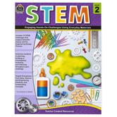 Teacher Created Resources, STEM Workbook, Paperback, 112 Pages, Grade 2