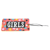 Colorfetti Collection, Girls Hall Pass, 3 x 6 Inches, 90's Retro Colors, 1 Each