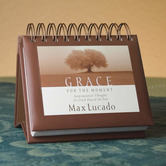 DaySpring, Max Lucado Grace for the Moment Perpetual Calendar, Paper, 5-1/2 x 5-1/4 x 1-1/4 inches