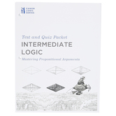 Canon Press, Intermediate Logic Tests and Quizzes, 3rd Edition, James B. Nance, Grades 9-12