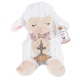 Ganz, Rosary with Lamb Stuffed Animal, 2 Pieces
