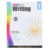 Carson-Dellosa, Spectrum Writing Workbook, Paperback, 112 Pages, Grade 1